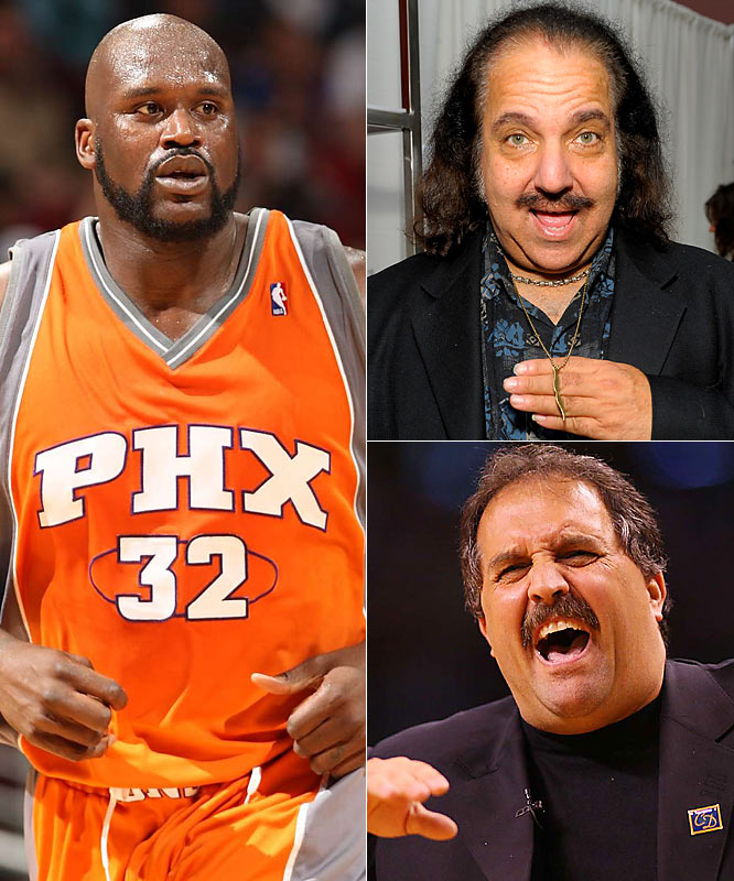 It's nice to see that Stan Van Gundy and Shaq finally made up and put aside their differences. Wait, no. That was actually porn star Ron Jeremy who was chatting with Shaq last week as they waited for their cars at a valet. (See the video below.)