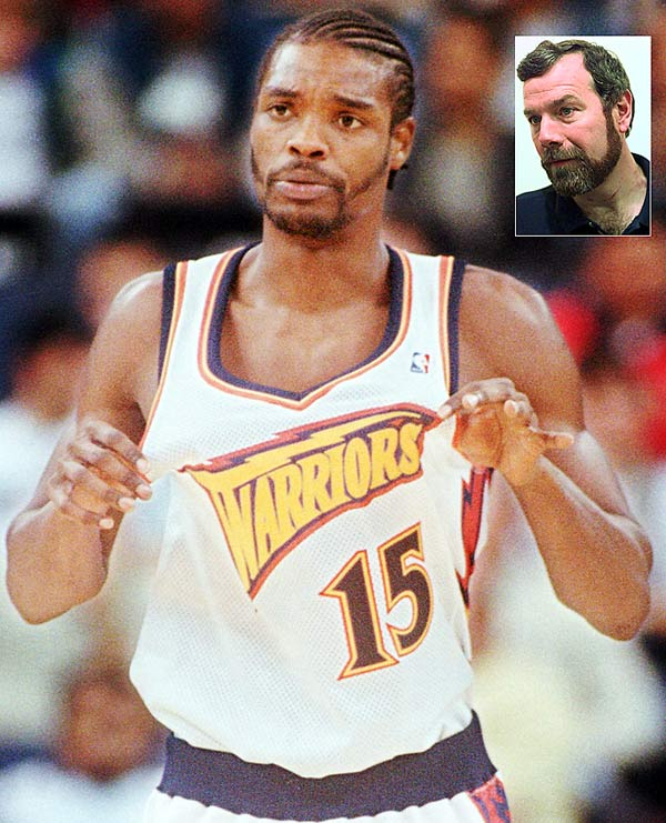 "The feud in 1997 was building for a while, with Golden State coach P.J. Carlesimo calling Sprewell ""a joke"" for laughing during a team huddle. Sprewell also missed a flight and drew a fine. The simmer turned to a boil quickly when, after Sprewell warned his coach to stay away -- advice he ignored -- the guard grabbed Carlesimo by the throat for 10-15 seconds. The Warriors voided the rest of Spree's contract, and the league suspended him for 82 games."