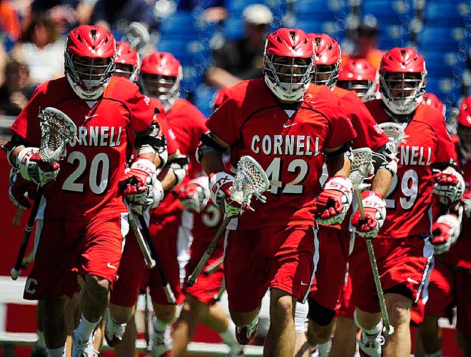 Coming into the NCAA tournament as a five-seed, Cornell flew past Hofstra and Princeton before upsetting top-ranked Virginia to reach the finals.