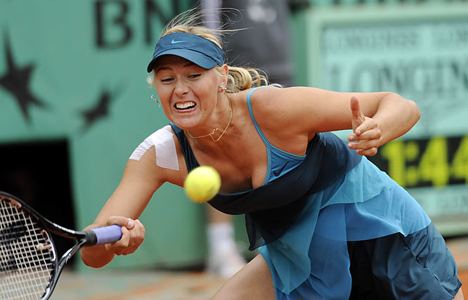 The 22-year-old Russian has showed tenacity at her first major tournament since missing nine months with a shoulder injury. ''I think these types of matches are really important for me, for my game,'' Sharapova said after beating 11th-seeded Nadia Petrova 6-2, 1-6, 8-6 in the second round in Paris.