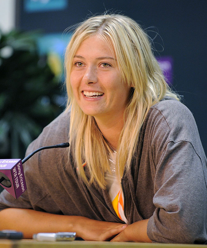 The 22-year-old Russian announced she'll play her first competitive singles match in nearly 10 months at next week's French Open tune-up in Warsaw. Sharapova, who sustained a torn rotator cuff in her right shoulder in August, could become the 10th woman to achieve a career Grand Slam with a victory at Roland Garros.