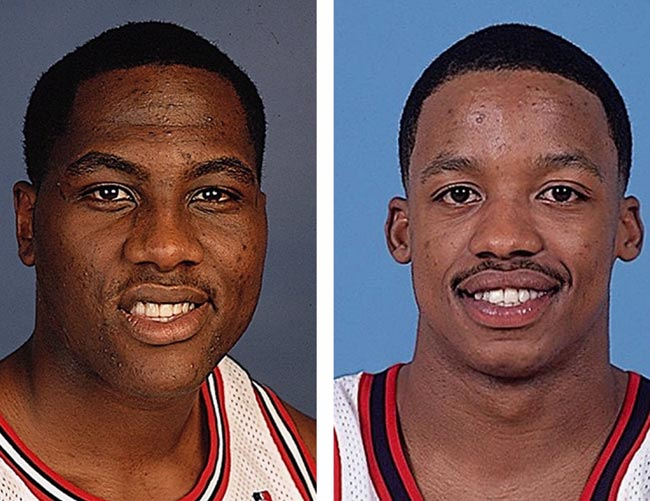 Chicago's Elton Brand and Houston's Steve Francis, who both enjoyed stellar first-year campaigns, are named co-winners of the 1999-2000 Rookie of the Year Award. Brand and Francis each received 58 of a possible 121 votes from a nationwide panel of sports writers and broadcasters.