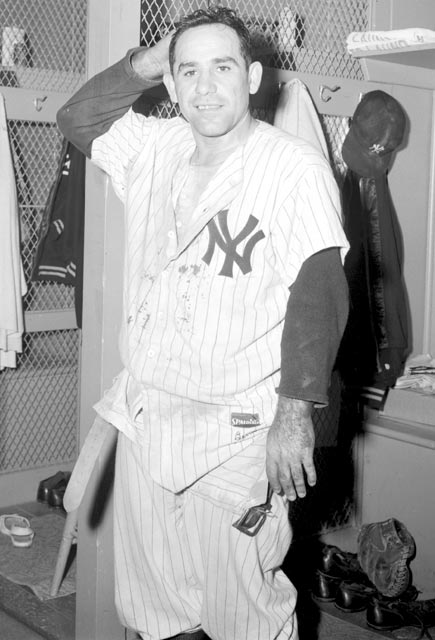 Yogi Berra (1925, pictured)  Lou Whitaker (1957)  Dave Christian (1959)  Steve Finley (1965)  Tony Hawk (1968)  Mike Weir (1970)  Jim  Furyk (1970)  Lawrence Phillips (1975)  Josh Phelps (1978)  Steve Smith (1979)
