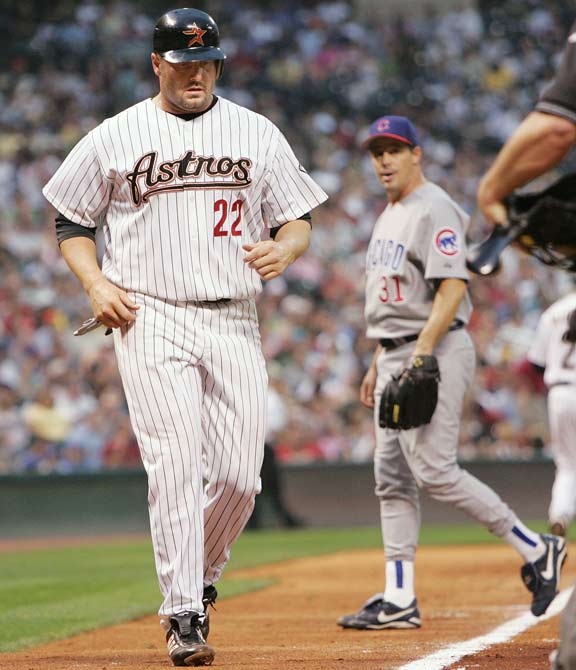 The fifth pair of 300-game winners in baseball history face off against each other as Cubs starter Greg Maddux (305) bests Roger Clemens (329) and the Astros at Minute Maid Park, 3-2. The other pair of milestone pitchers include Don Sutton vs. Steve Carlton (1987), Don Sutton vs. Phil Niekro (1987), Don Sutton vs. Tom Seaver (1986) and Tim Keefe vs. Jim 'Pud' Galvin (1892).