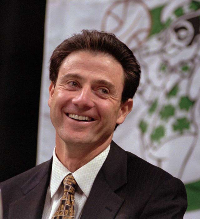 Rick Pitino becomes the head coach of the Boston Celtics, where he amasses a 102--146 record from 1997 to 2001.