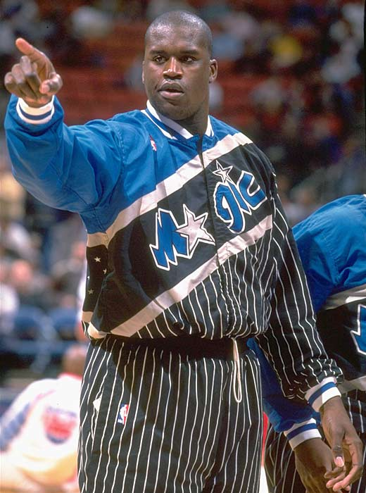 Orlando center Shaquille O'Neal is named the NBA Rookie of the Year after averaging 23.4 points (eighth in the NBA), 13.9 rebounds (second) and 3.53 blocks per game (second), leading the Magic (41-41) to an improvement of 20 wins over the previous season.