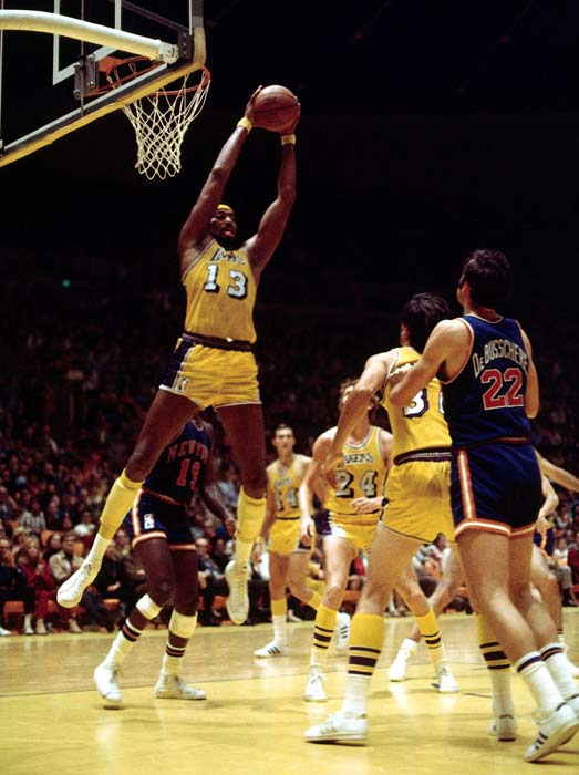 The Los Angeles Lakers convert 57 of 94 field goal attempts in a 135-113 Game 6 victory over New York in the NBA Finals. The Knicks, however, come back and win Game 7 to capture their first championship.