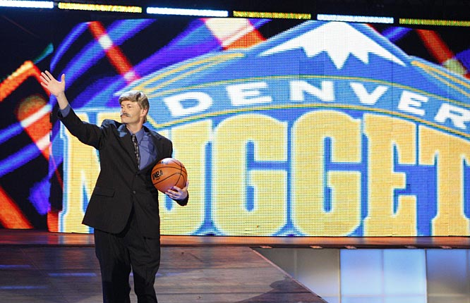 The show kicked off with Stan Kroenke (or the WWE's version of the Nuggets owner) addressing the Los Angeles crowd.
