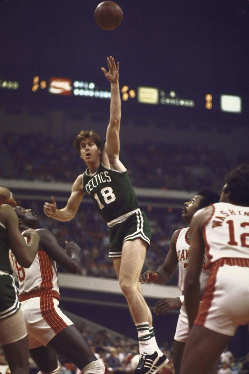 Two years after he won Rookie of the Year as the fourth overall pick out of Florida State, Cowens averaged 20.5 points and 16.2 rebounds while helping the Celtics to an NBA-best 68-14 record. His league MVP and All-Star Game MVP honors that season were the only time he won the awards.