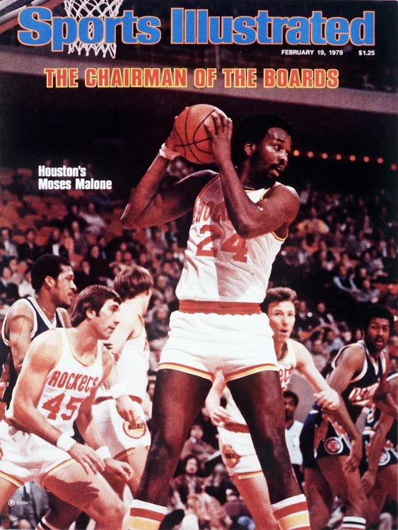 It took until 1981 for Malone to lead his Rockets to the NBA Finals, but he was recognized as the league's top player two years earlier. The former ABA standout averaged 25.8 points and a league-leading 17.6 rebounds in the first of his three MVP seasons.