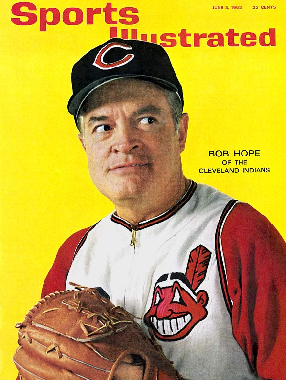 Hope, a lifelong golf lover who once putted against a 2-year-old Tiger Woods on The Mike Douglas Show , moved to Cleveland at the age of 5 and was a die-hard Indians fan. He became a minority owner of the Indians after Bill Veeck acquired the team in 1946 and graced the June 1963 SI cover in an Indians uniform.