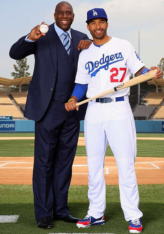 Former Dodgers owner Frank McCourt announced an agreement on March 27, 2012, to sell the bankrupt team for $2 billion to a group that included former Lakers star Magic Johnson.