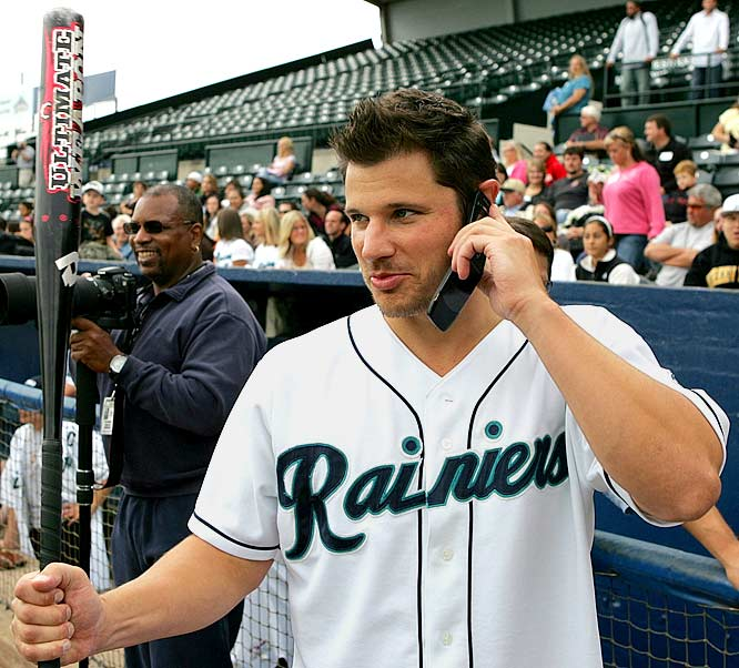Lachey, perhaps best known as the ex-husband of Jessica Simpson, is also an avid sports fan. In 2006, Lachey bought one third of the minor-league Tacoma Rainiers, the Triple-A affiliate of the Seattle Mariners. Lachey had unsuccessfully attempted to become a part owner of his hometown Cincinnati Reds a few years prior.