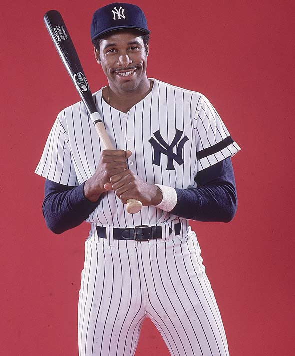 Dave Winfield poses for a 1981 cover story shortly after being traded to the Yankees from San Diego.