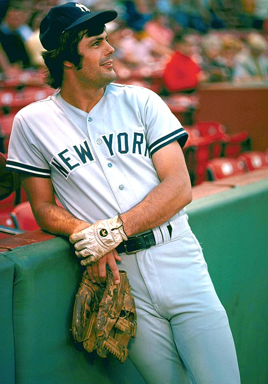 Lou Piniella relaxes before a game against the Red Sox at Fenway Park.