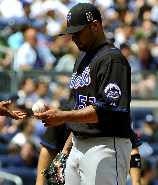 DUD: <br>10 IP<br>  17 hits allowed<br>14 runs<br> 12.60 ERA<br> 2.00 WHIP