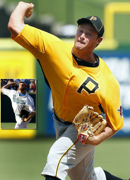 Pitcher, UCLA Cole, a 6-foot-4, 220-pound junior, posted mediocre numbers for the Bruins (6-8, 3.31 ERA) in 2011, but he had what many considered to be the best pure stuff in the draft. He was the first of four straight pitchers to be selected in a first-round dominated by pitchers. Cole went 5-1 with a 2.55 ERA in Class A ball in 2012, 3-6 with a 2.90 ERA in Double-A and won one game in Triple-A. As of June 4, 2013, he had started two games in the majors, winning once.