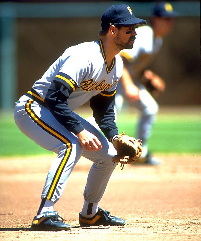 Third baseman, University of Arkansas King spent parts off 11 seasons in the majors, logging 1,201 games and finishing with a .256 career batting average to go along with 154 games. King played a key role in Pittsburgh's three division championship teams in 1990, '91 and '92.
