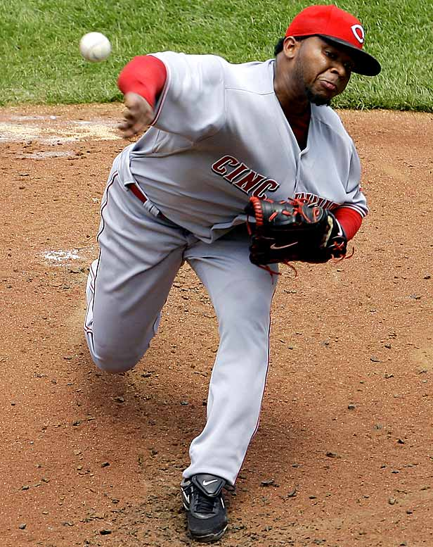 Even though he pitches his home games in the bandbox known as the Great American Ball Park, Cueto boasts a 2.86 ERA and 1.14 WHIP.