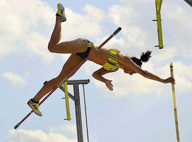 The Olympic silver medalist at Beijing, Stuczysnki won the women's pole vault title last weekend at the Reebok Grand Prix meet in New York.