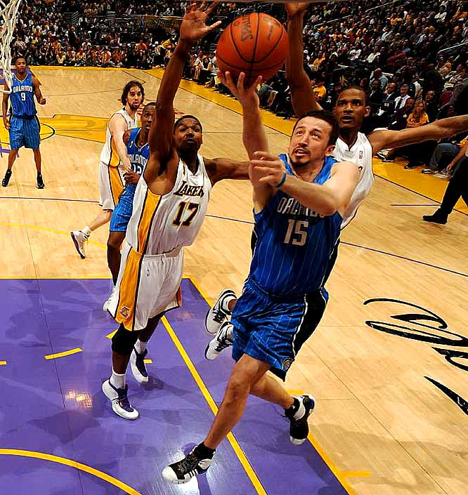 Turkoglu finished with 22 points, six rebounds and four assists.