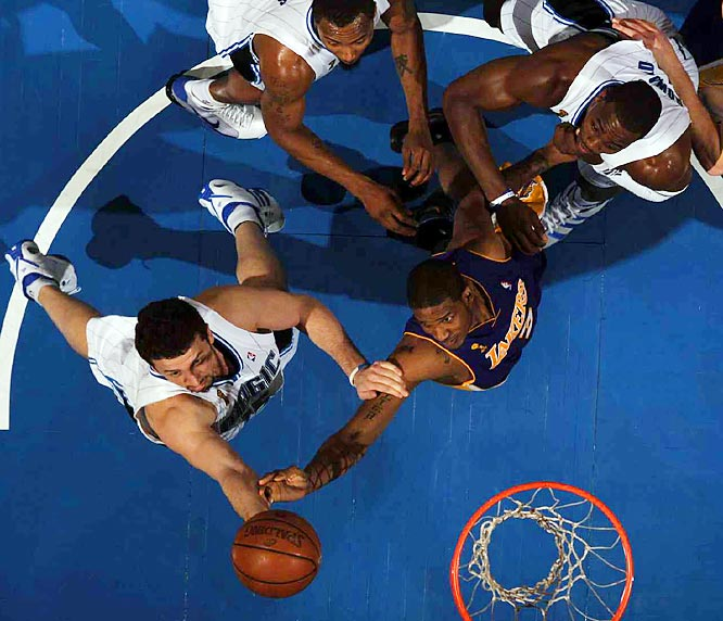 The Magic and Lakers battled down to the wire: The game was tied at 99-99 with 2:41 remaining, but Orlando got the best of it down the stretch.