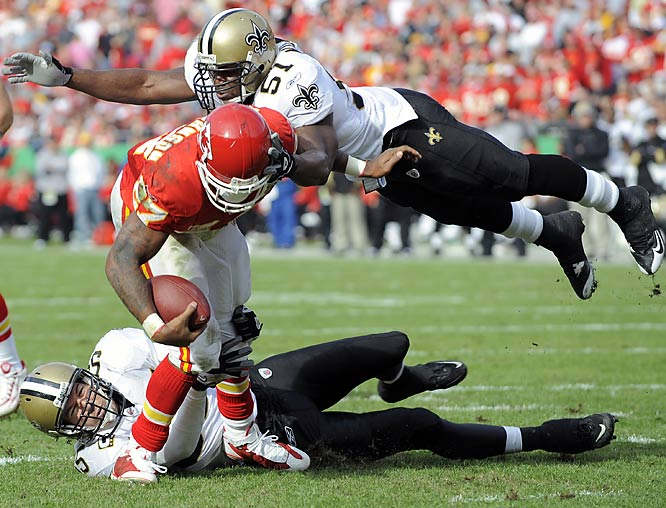 The name of the game on defense is to tackle the guy with the ball. On that front, Vilma is Pro Bowl-caliber. But in other ways, he is not the dominant player some portray him to be. He doesn't force a lot of turnovers and doesn't produce sacks.