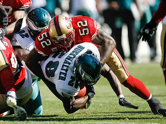 """Middle linebackers are a dying breed in the NFL, as pointed out by SI.com's John P. Lopez (link to story below.) What follows is a look at the starting MLBs for teams that run a 4-3 defense heading into the 2009 season.<br><br>They call Willis """"The Truth"""" and """"Bam Bam."""" And they're right. He is young, talented, has a nasty streak and is coached by the last linebacker to earn Hall of Fame enshrinement. He still hasn't reached full potential, either. Scary."""