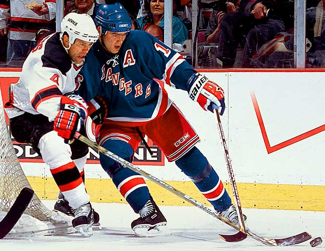 He'd never topped 30 goals or 65 points in any of his 10 seasons with the Devils, but the Rangers insisted on making the Czech center one of the NHL's best-paid players, with a five-year, $45 million deal. They ended up buying out the final three years of the bum deal.