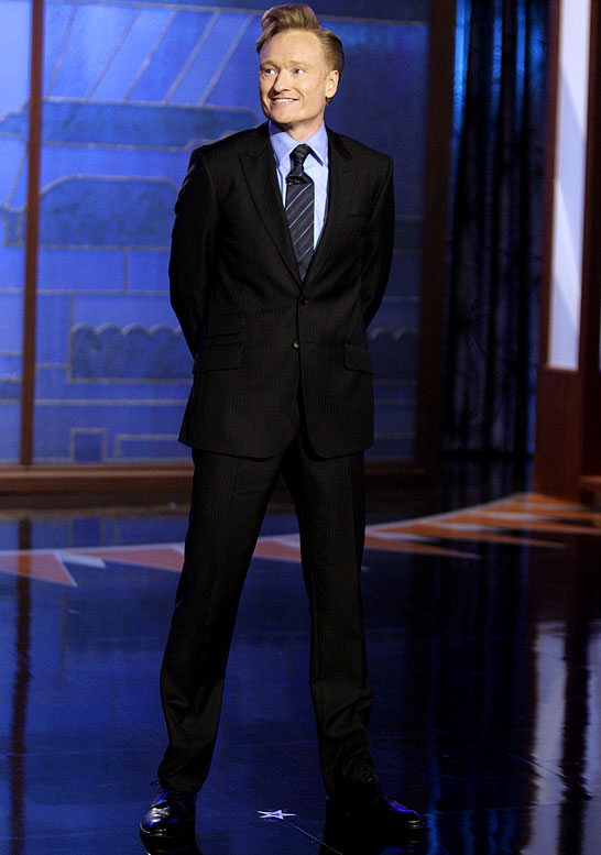 "It took O'Brien all of 30 seconds into his opening monologue as the host of <i>The Tonight Show</i> to knock the Los Angeles Clippers, saying, ""This studio holds 380 people. It's exactly like being at a Clippers game."" He later showed a clip of himself at a Lakers game in the last row of Staples Center as Jack Nicholson and other celebs sat courtside. Something tells me that will be the last time Conan ever sees the upper bowels of Staples."