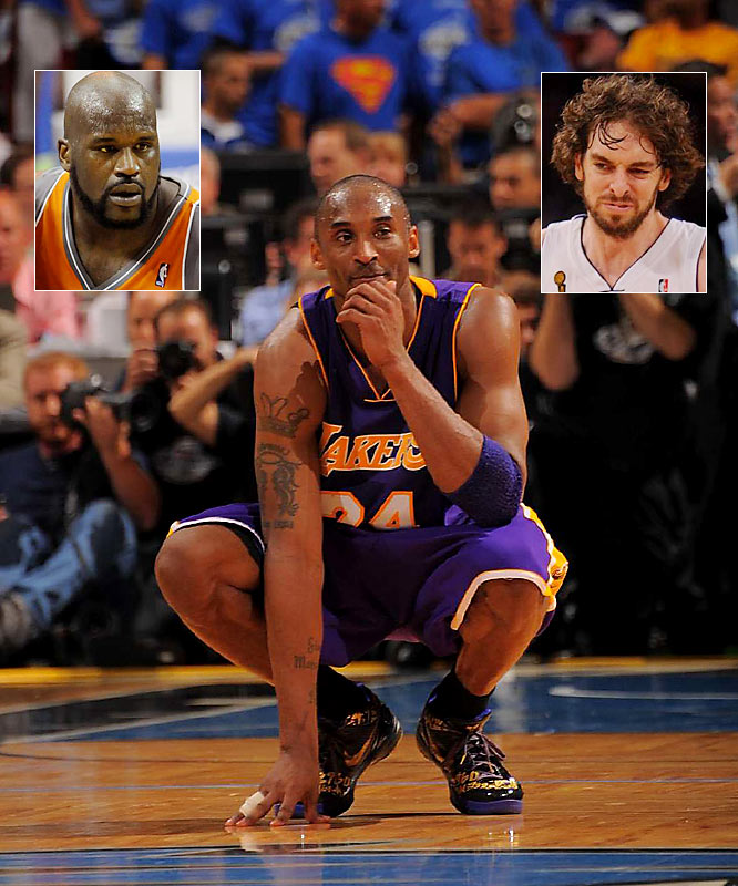 "I never understood the argument that Kobe needed to win a title without Shaq to silence his critics. Did Magic need to win without Kareem to cement his greatness? Either way, Kobe and the Lakers won the championship five years after trading away the Big Diesel. So when can we start the ""Kobe can't win without Gasol"" criticism?"