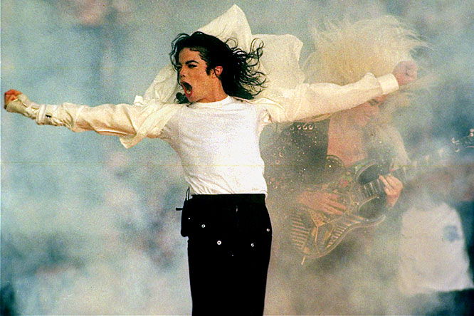 The King of Pop had a bigger impact on sports than most give him credit for. He single-handedly changed the Super Bowl halftime show from a bathroom break into a megaevent. Before Jackson's memorable performance at Super Bowl XXVII, the NFL had such forgettable acts as marching bands, the Rockettes, Elvis Presto and Disney characters. The year before, the halftime show featured former Olympic champions Brian Boitano and Dorothy Hamill skating on sheets of Teflon. His sister Janet may have had the most controversial performance, but we can always thank Michael for saving us from watching Mickey Mouse run around the field during halftime of the Super Bowl again.