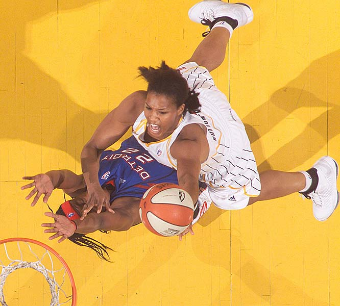 So the Fever loses its best post player for the season in Yolanda Griffith and get ... better? That would appear to be the case -- nowhere more so than on the defensive end. In its first two games, all losses, they allowed 91.5 points per game. But in the next four games, all wins, they held opponents to just 62.8 ppg. <br><br>Next three: 6/26 at New York; 6/27 vs. New York; 7/2 vs. Connecticut