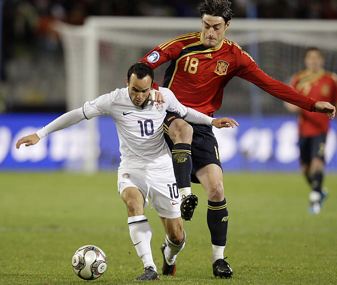 Landon Donovan and the U.S. entered the match ranked 14th in the world, and had been routed by Italy and Brazil earlier in the tournament by a combined 6-1.