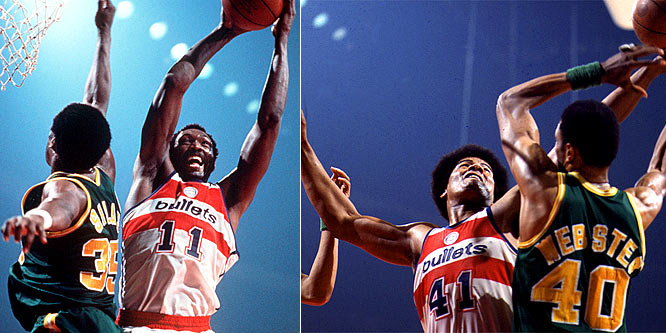 Despite individual success, future Hall of Famers Hayes and Unseld remained ringless in their first 10 years in the NBA. That changed in 1978, when Hayes averaged 21.8 points for the Bullets during the postseason and Unseld was named the Finals MVP in a victory over the SuperSonics in seven games.