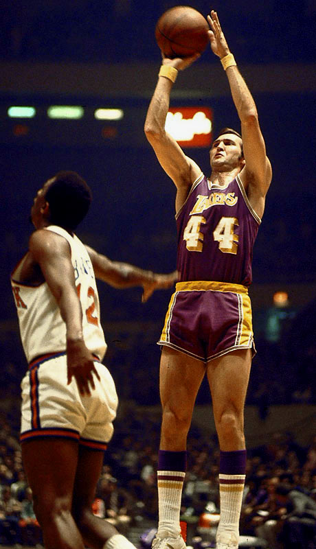 Prior to the 1971-72 season, West, now 33, was considering retirement. Despite individual success, he had never tasted an NBA championship in 12 seasons. But the 1972 season proved to be special: The Lakers finished 69-13, the best single-season record in NBA history at the time. In the finals, Los Angels rolled over the Knicks in five games. West later won multiple titles as an executive with the Lakers.