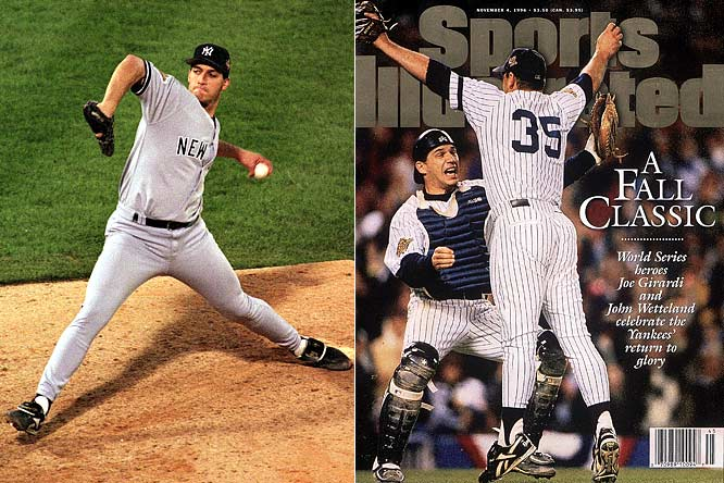 The Yankees won their 23rd title by becoming one of only three teams to win the World Series after losing the first two games at home. After a rough start for pitcher Andy Pettitte in Game 1 (7 ER in 2 1/3 innings), he came back strong in Game 5, pitching 8 1/3 shutout innings against the Braves for a 1-0 win in Atlanta.  Jimmy Key and John Wetteland combined for the Game 6 win, with Wetteland earning the Series MVP with saves in all four of New York's victories.