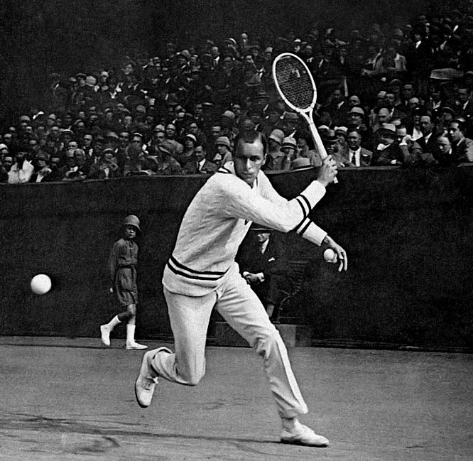 Wimbledon (1920, '21, '30)   US Open (1920, '21, '22, '23, '24, '25, '29)      Tilden dominated tennis in the '20s like few players have ruled their respective eras in any sport. In addition to his three Wimbledon championships, the native Philadelphian won the U.S. Championships in 1920, '21, '22, '23, '24, '25 and '29.