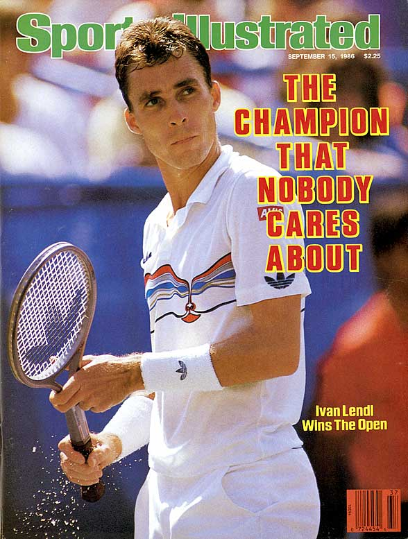 Australian Open (1989, '90)   French Open (1984, '86, '87)   US Open (1985, '86, '87)     Lendl advanced to 19 Grand Slam finals, a record only recently eclipsed by Roger Federer. His won three French Opens, three U.S. Opens and two Australian Opens.