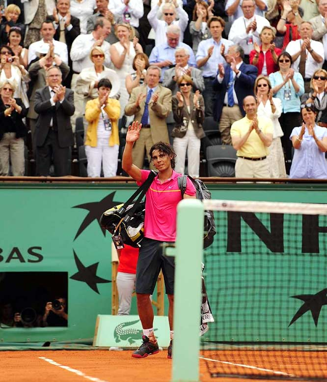 "The world No. 1 says he'll undergo physical therapy to get his knees ready for Wimbledon. ""I am going to give my 200 percent to be ready for the most important tournament in the world,"" Nadal said on his Web site. ""I will not go out and play, especially on the Wimbledon Centre Court, if I am not 100 percent ready to play.''"