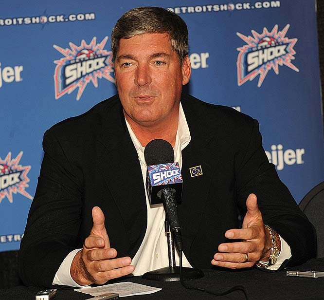 Just when you thought things couldn't get any worse for the Shock, Bill Laimbeer (pictured) suddenly resigned as head coach and general manager (three games into the season) after seven years on the job. While some will question the timing of his departure and the chops of the assistants who will split his duties -- Rick Mahorn will do the coaching, while Cheryl Reeve will handle the personnel decisions -- there's no doubt about the towering legacy Laimbeer leaves behind. His 137 wins are good for fifth all-time, and his three WNBA championships are second only to the four straight Van Chancellor won in Houston. <br><br>Next three: 6/19 vs. Indiana; 6/21 at Indiana; 6/26 at Atlanta