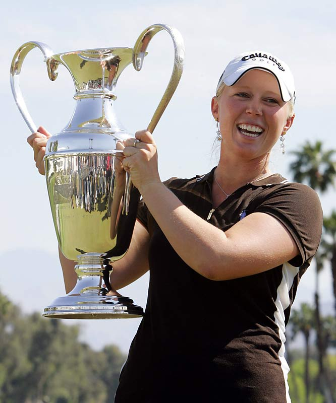 Pressel has achieved achievements over her short career. At 12, she became the  youngest player to qualify for the U.S. Women's Open. At 17, she successfully appealed the LPGA to let her play professionally even though the rules state that a competitor must be 18. She even managed to play part-time on the tour while still attending high school. None of these achievements measure up to what she did in 2007, when she became the youngest to ever win an LPGA major golf tournament at 18 years, 10 months.