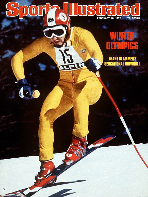 As the downhill gold-medal favorite in his home country of Austria at the 1976 Olympics, Klammer delivered by skiing on the edge of disaster for 105 seconds. It remains the single most harrowing ski-racing performance in history, as if Klammer forgot how to be afraid and simply gave himself up to the mountain and the event and came away with a gold medal.