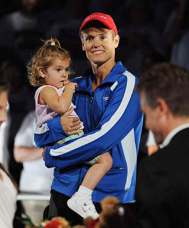 Olympian Dara Torres competed at the U.S. national championships less than 15 months after the 2007 birth of her daughter, Tessa, and then took home three silver medals at the 2008 Olympics.