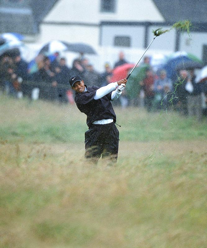 Bone weary of a manicured lawn and you-da-man/in-the-hole galleries, and distinctly unmoved by the self-consciousness of Augusta, I yearn for golf au natural. A little rain. A lot of wind. Gore-Tex instead of Spandex. Bump and runs. Fescue up to Anthony Kim's belt buckle. Nirvana.