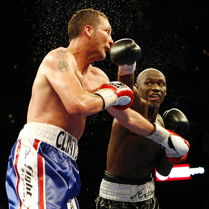 Tarver won the light heavyweight championship in 2003 with a win over Montel Griffin. He later had two memorable fights with Roy Jones, losing the first in a close decision and knocking Jones out in the second round of the second fight, the first time Jones had been knocked out. Tarver's career record is 27-6 with 19 knockouts.