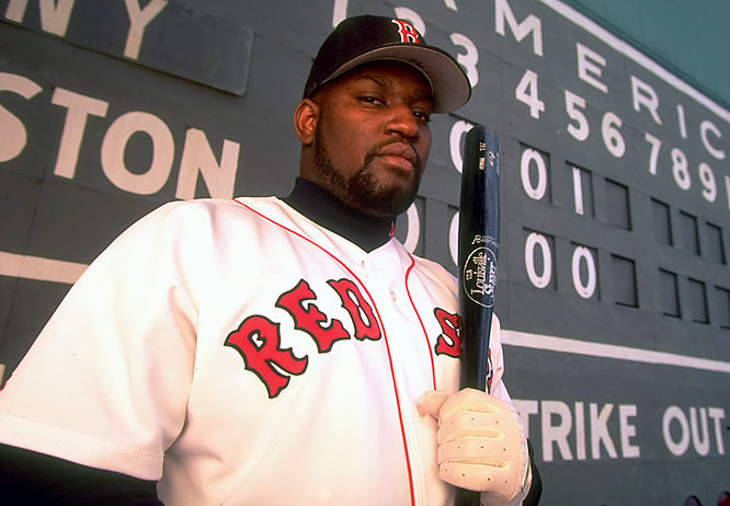 Mo Vaughn anchored the Red Sox lineup for much of the '90s and remains one of New England's most popular sports figures due to his extensive charity work.