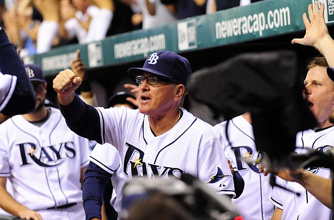 Maddon has been at the helm during the Rays' rise to prominence.