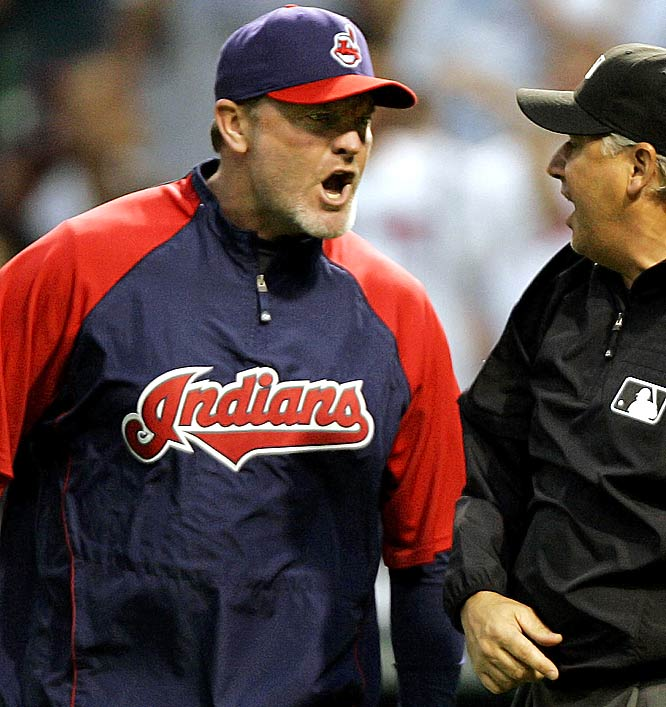 Wedge nearly led the Tribe to the World Series in 2007 and has an overall winning percentage of .501 in seven seasons as Cleveland manager.