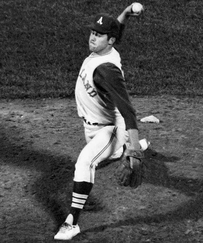 Hunter, who never spent a day in the minor leagues, tossed the fourth perfect game in American League history. Hunter struck out 11 and was also productive at the plate, going 3-for-4 and driving in three runs. Bert Campaneris and Rick Monday added two hits.
